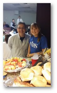 NHS SAC Coffee Hour