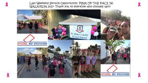 Pink up the Pace 2017-SJVS